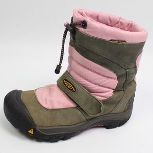 Keen Warm 200 Gr Insulation snow boot pink gray